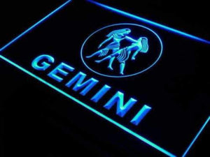 Astrology Zodiac Gemini Neon Sign (LED)-Way Up Gifts