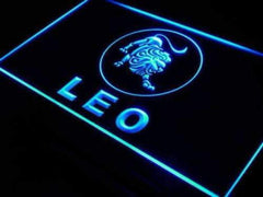 Astrology Zodiac Leo LED Neon Light Sign