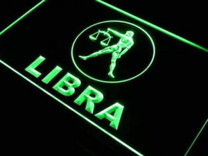 Astrology Zodiac Libra Neon Sign (LED)-Way Up Gifts