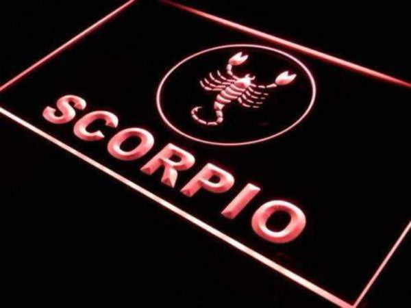 Astrology Zodiac Scorpio LED Neon Light Sign - Way Up Gifts