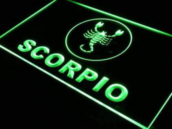 Astrology Zodiac Scorpio Neon Sign (LED)-Way Up Gifts