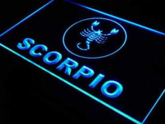 Astrology Zodiac Scorpio LED Neon Light Sign