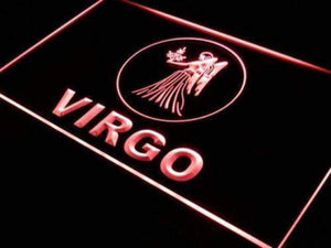 Astrology Zodiac Virgo Neon Sign (LED)-Way Up Gifts
