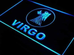 Astrology Zodiac Virgo LED Neon Light Sign
