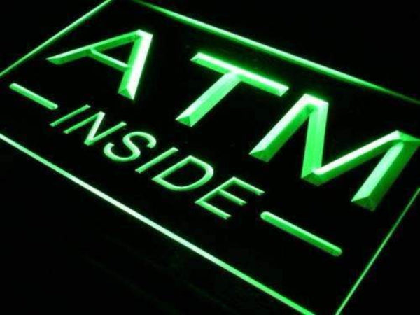ATM Inside LED Neon Light Sign  Business > LED Signs > Uncategorized Neon Signs - Way Up Gifts
