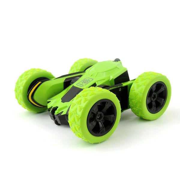 Atom Max Stunt Remote Control RC Car 1:28 Green Kids > RC Electronics > RC Cars - Way Up Gifts