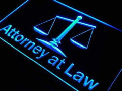 Attorney At Law LED Neon Light Sign