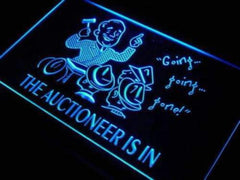 Auctioneer is In Auction LED Neon Light Sign