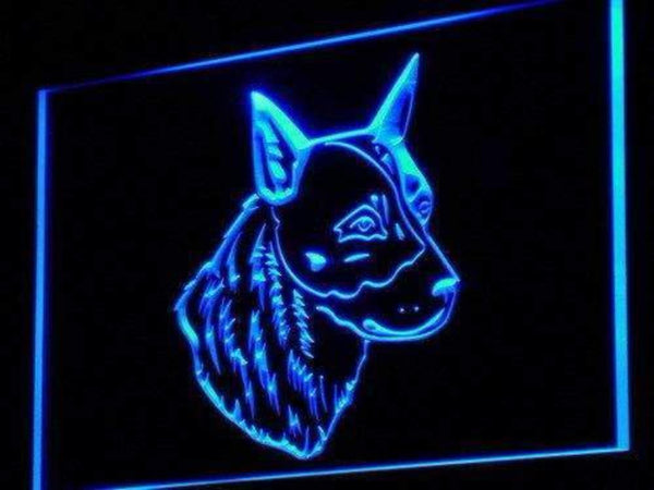 Australian Cattle Dog Neon Sign (LED)-Way Up Gifts