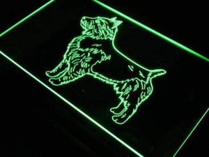 Australian Terrier Neon Sign (LED)-Way Up Gifts