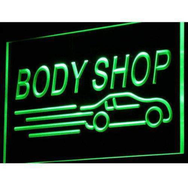 Auto Body Shop Car LED Neon Light Sign - Way Up Gifts