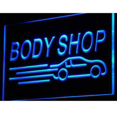 Auto Body Shop Car LED Neon Light Sign