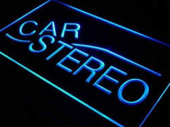 Auto Body Shop Car Stereo Audio LED Neon Light Sign