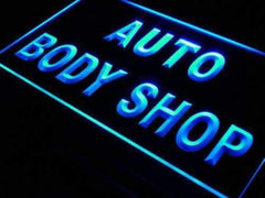 Auto Body Shop LED Neon Light Sign