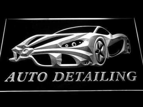 Auto Detailing LED Neon Light Sign - Way Up Gifts