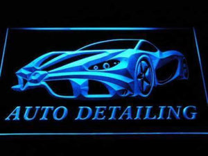 Auto Detailing Neon Sign (LED)-Way Up Gifts