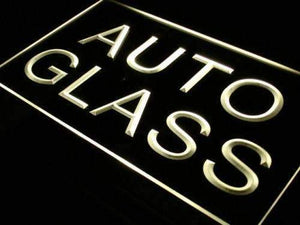 Auto Glass Repairs Neon Sign (LED)-Way Up Gifts