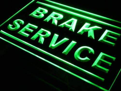 Auto Repair Shop Brake Service LED Neon Light Sign - Way Up Gifts