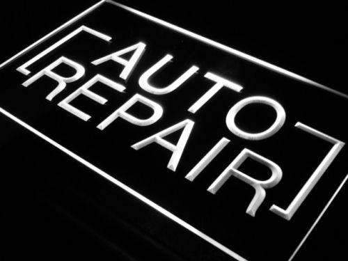 Auto Repair Shop LED Neon Light Sign - Way Up Gifts