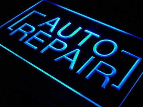 Auto Repair Shop Neon Sign (LED)-Way Up Gifts