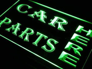 Auto Shop Car Parts Here Neon Sign (LED)-Way Up Gifts