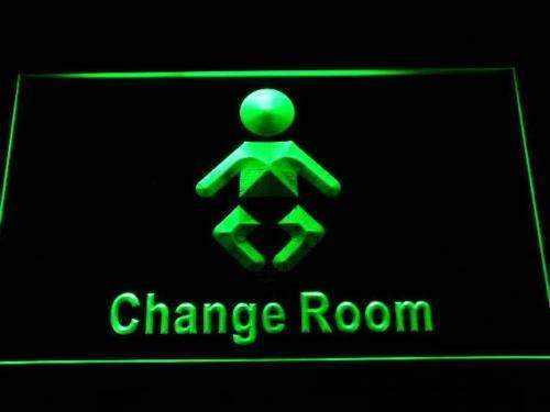 Baby Change Restroom Neon Sign (LED)-Way Up Gifts