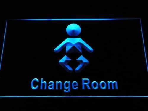 Baby Change Restroom LED Neon Light Sign - Way Up Gifts