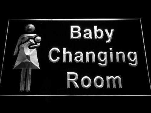 Baby Changing Room Neon Sign (LED)-Way Up Gifts