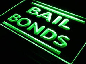 Bail Bonds Neon Sign (LED)-Way Up Gifts