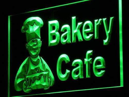 Bakery Cafe Neon Sign (LED)-Way Up Gifts