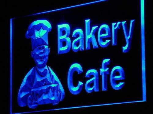 Bakery Cafe LED Neon Light Sign - Way Up Gifts