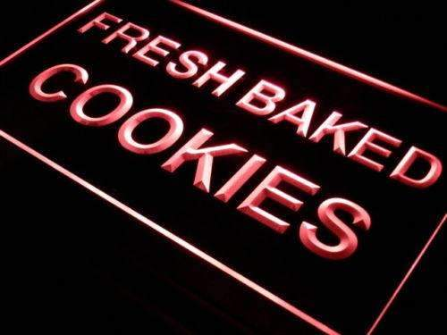 Bakery Fresh Baked Cookies Neon Sign (LED)-Way Up Gifts