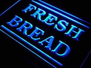 Bakery Fresh Bread Neon Sign (LED)-Way Up Gifts