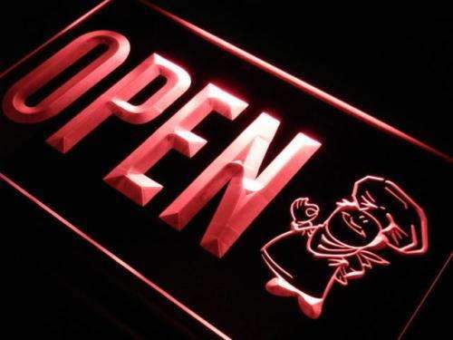 Bakery Open Neon Sign (LED)-Way Up Gifts