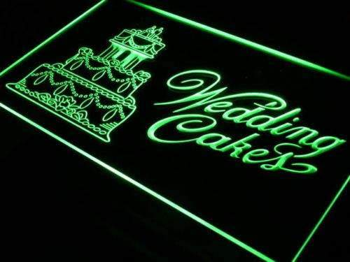 Bakery Wedding Cakes Neon Sign (LED)-Way Up Gifts