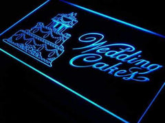 Bakery Wedding Cakes LED Neon Light Sign