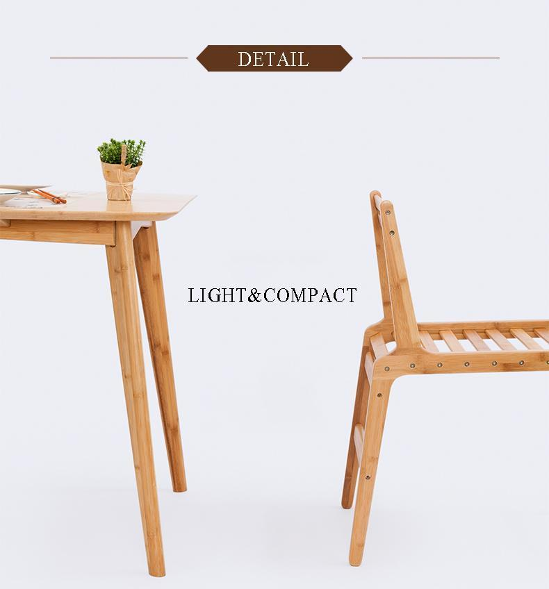 Handcrafted Bamboo Armchair Dining Chair - Way Up Gifts