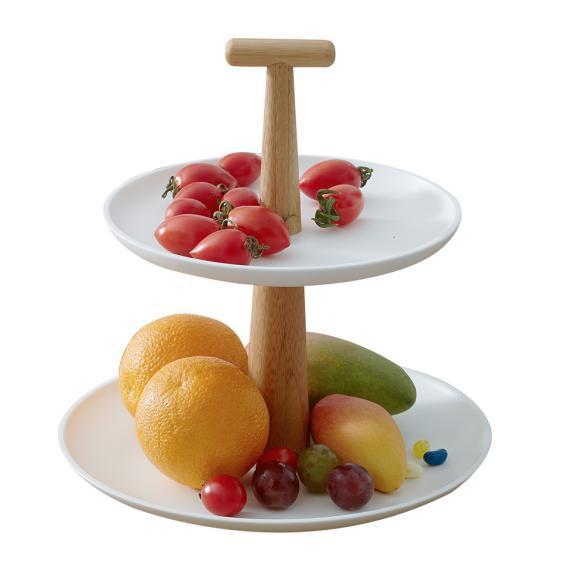 Handcrafted Bamboo Cake Stand, Fruit Tray  Home > Bamboo Products > Bamboo Gifts - Way Up Gifts