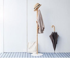 Modern Standing Hat & Coat Rack | Tree Hanger Stand with Hooks