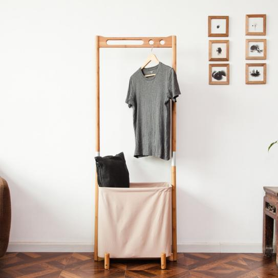 Handcrafted Bamboo Garment Rack, Clothes Rack, Hanger, Laundry Basket  Home > Bamboo Products > Bamboo Furniture - Way Up Gifts
