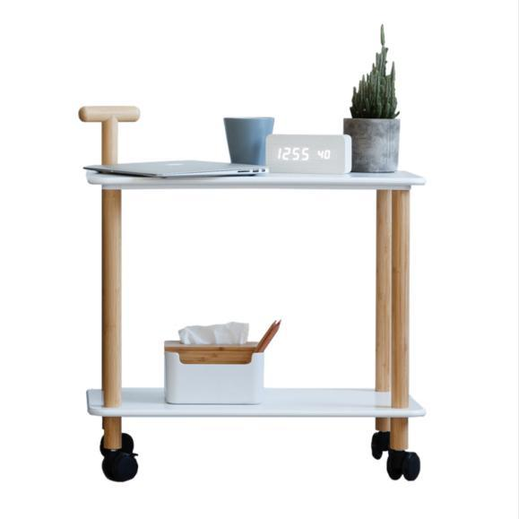 Bamboo Kitchen Trolley Cart