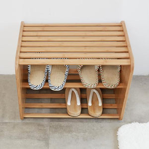 Bamboo Shoe Rack II