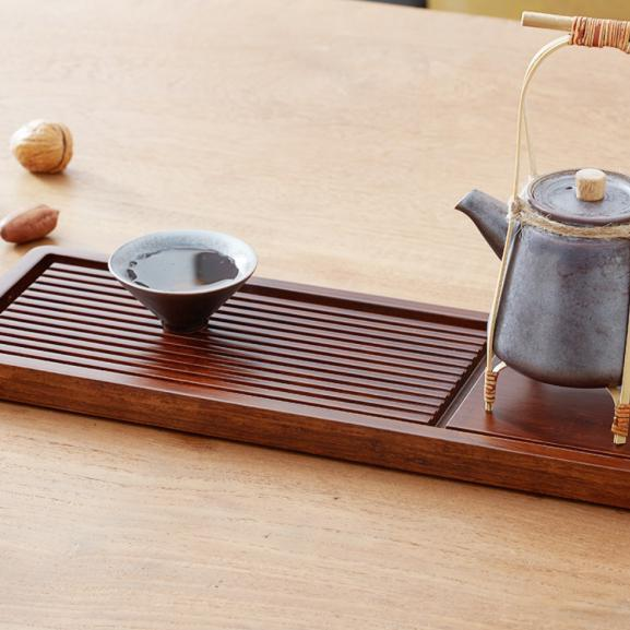 Handcrafted Bamboo Tea Tray - Way Up Gifts