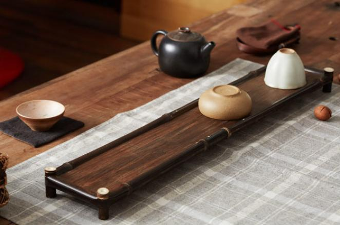 Bamboo Tea/Coffee Serving Tray