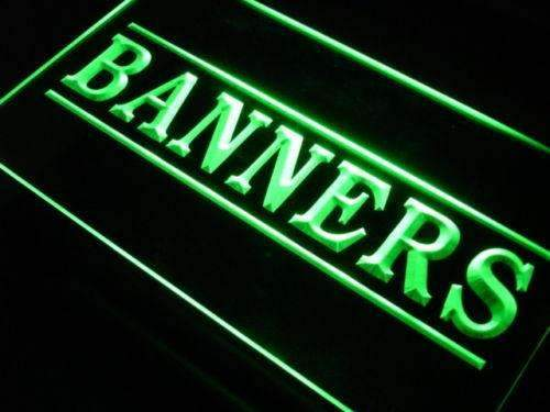 Banners Shop LED Neon Light Sign - Way Up Gifts