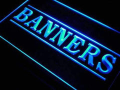 Banners Shop LED Neon Light Sign