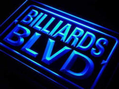 Bar Decor Billiards Boulevard LED Neon Light Sign