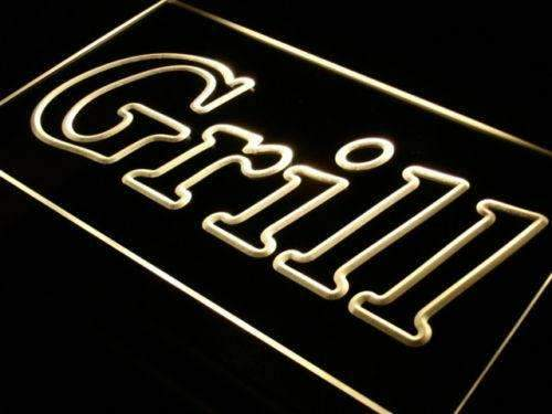 Bar Grill Restaurant LED Neon Light Sign - Way Up Gifts