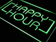 Bar Happy Hour LED Neon Light Sign