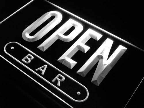 Bar Open LED Neon Light Sign - Way Up Gifts